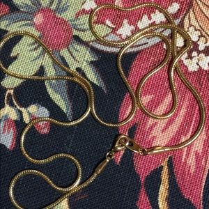 Jewelry - Gold-Tone 24-Inch Snake-Chain Necklace